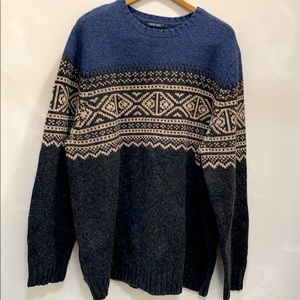Nordic Pullover Knit Sweater